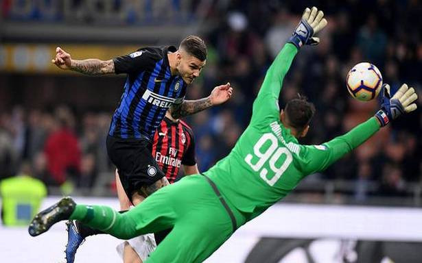 Inter takes Milan derby - Hindu | Sports | Removed news from